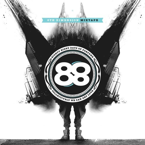 88Days of Fortune - 8th Dimension Mixtape artwork