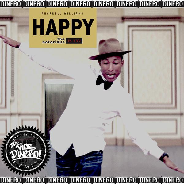 Pharrell hat happy