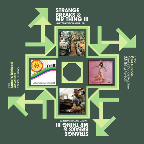 Strange Breaks & Mr Thing III, cover artworks