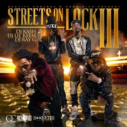 "Rich the Kid ""Why You Mad"" off Streets on Lock 3 mixtape cover artworks"