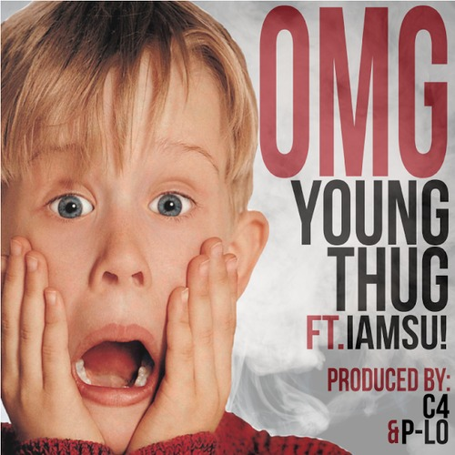 Young Thug - OMG Ft IAMSU! [Prod By. C4] cover artwork