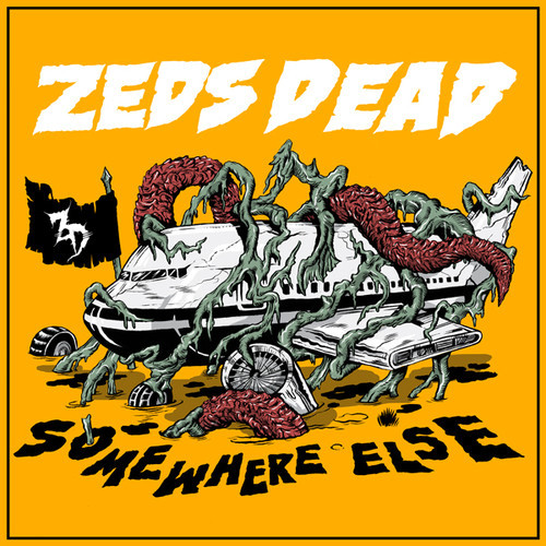 Zeds Dead Somewhere Else EP artwork