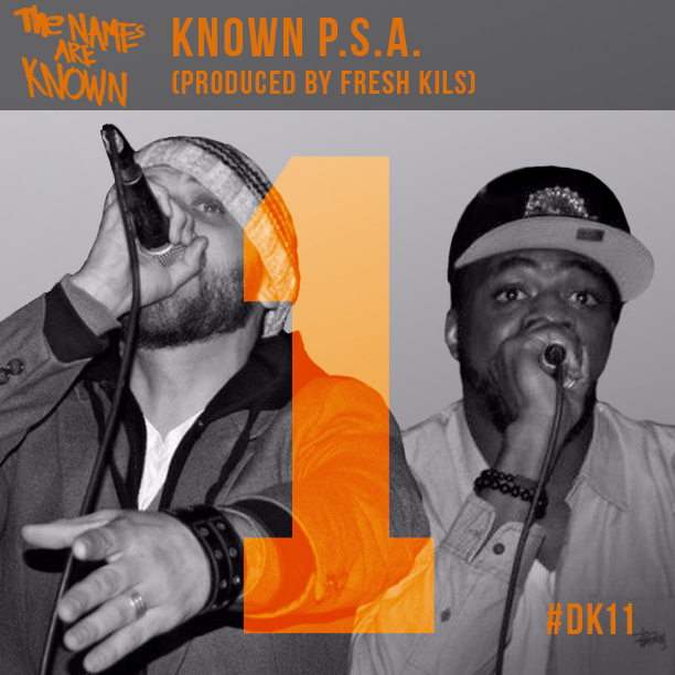 Private The Names Are Known - Known P.S.A. (prod. by Fresh Kils) single cover art