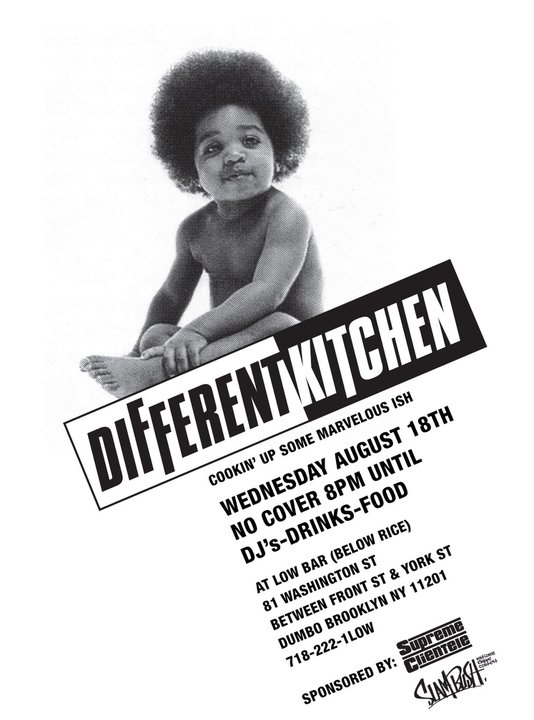 Notorious B.I.G. Ready To Die Different Kitchen DUMBO Brooklyn Low Bar Party Flyer
