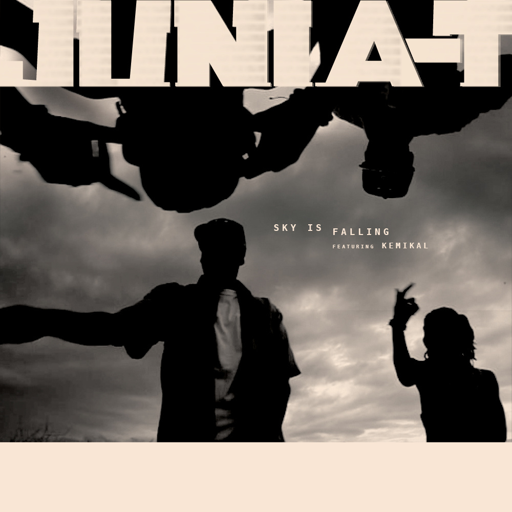 artwork video Junia-T feat. Kemi - Sky Is Falling (prod Junia-T)