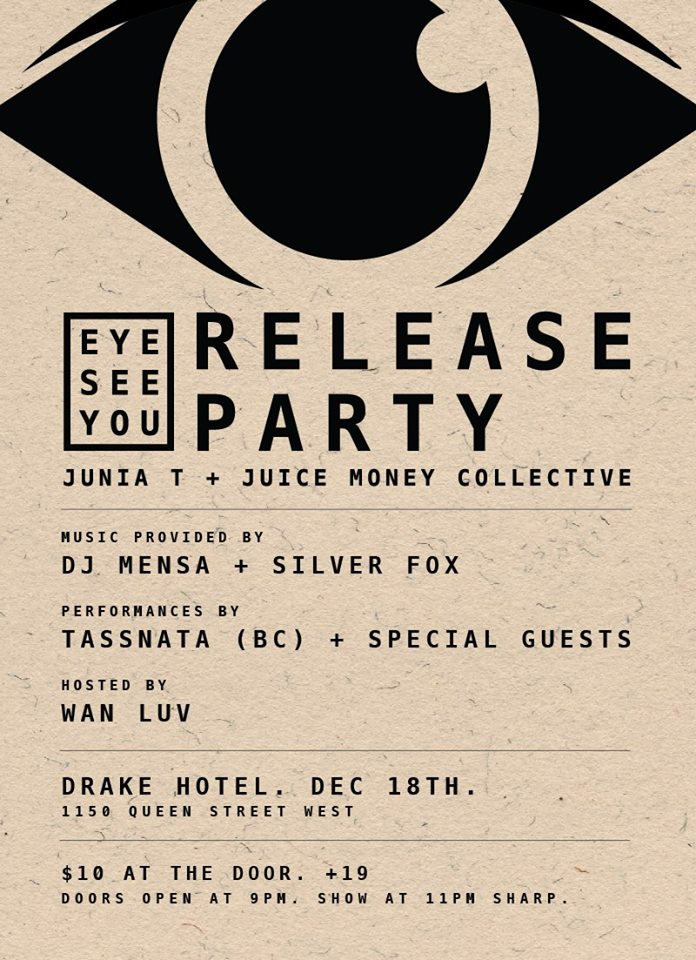 Junia.T PlayaEye See You - Release Party @ The Drake Hotel