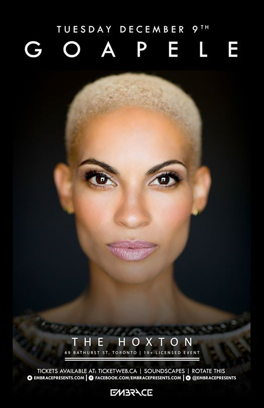 GOAPELE Live at The Hoxton in Toronto, Canada (December 9, 2014)