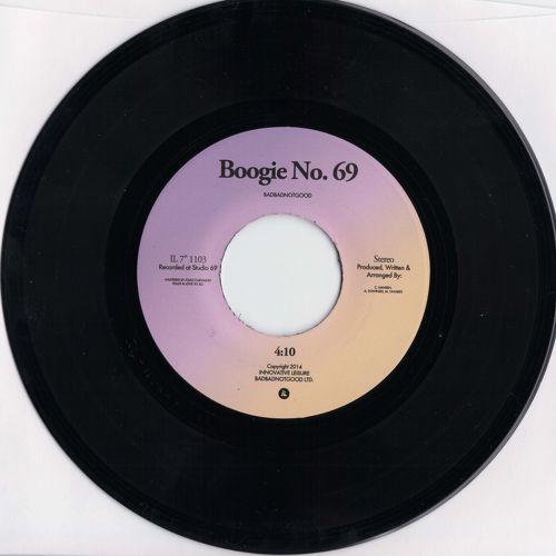 Badbadnotgood - Boogie No. 69 artwork
