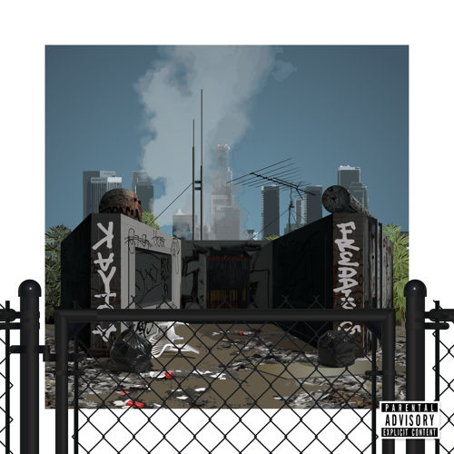 Freddie Gibbs & KAYTRANADA - My Dope House artwork