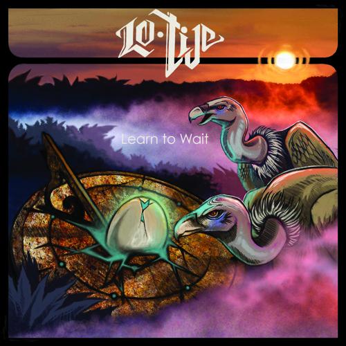 Album Lo Tide - Learn to Wait   Label Organik Recordings artwork