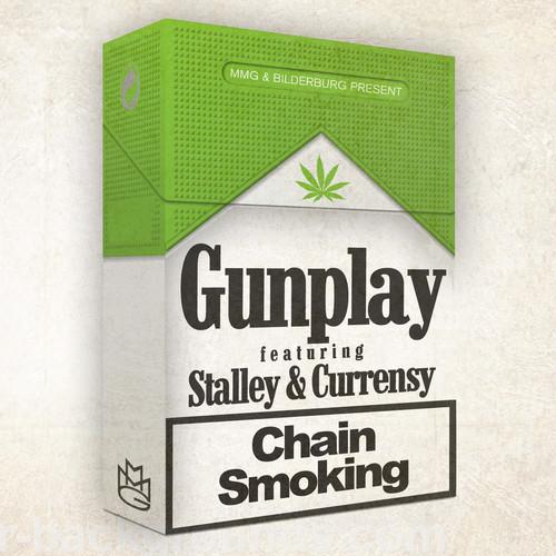 Gunplay ft. Stalley & Currensy - Chain Smoking artwork