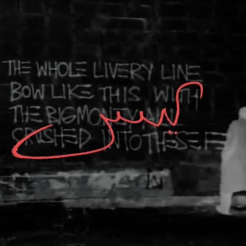 Yasiin Bey (fka Mos Def) – Basquiat Ghostwriter artwork