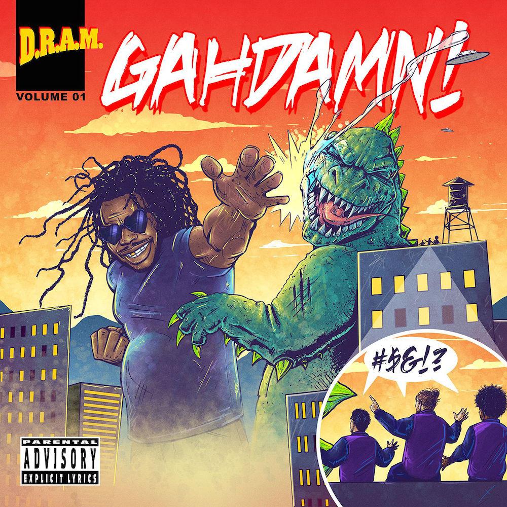 DRAM-Gahdamn-EP  D.R.A.M. Caretaker Feat. SZA (Extended Version)