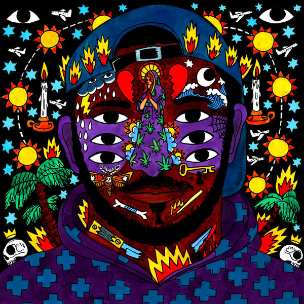 Kaytranada-99.9 per cent album cover art