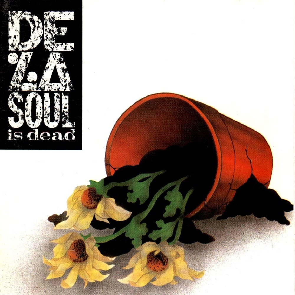 De_La_Soul_Is_Dead album cover art
