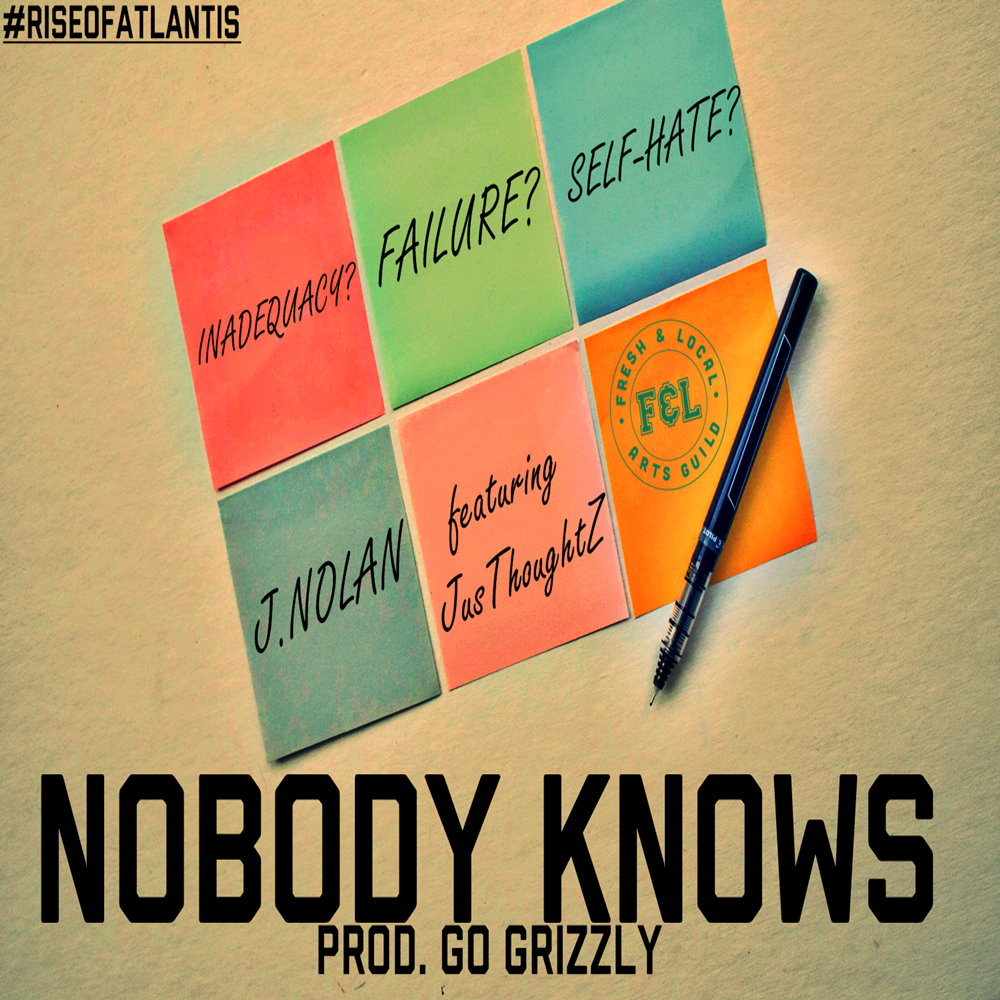 J.Nolan - Nobody Knows ft. JusThoughtZ (prod. Go Grizzly) Artwork-Square