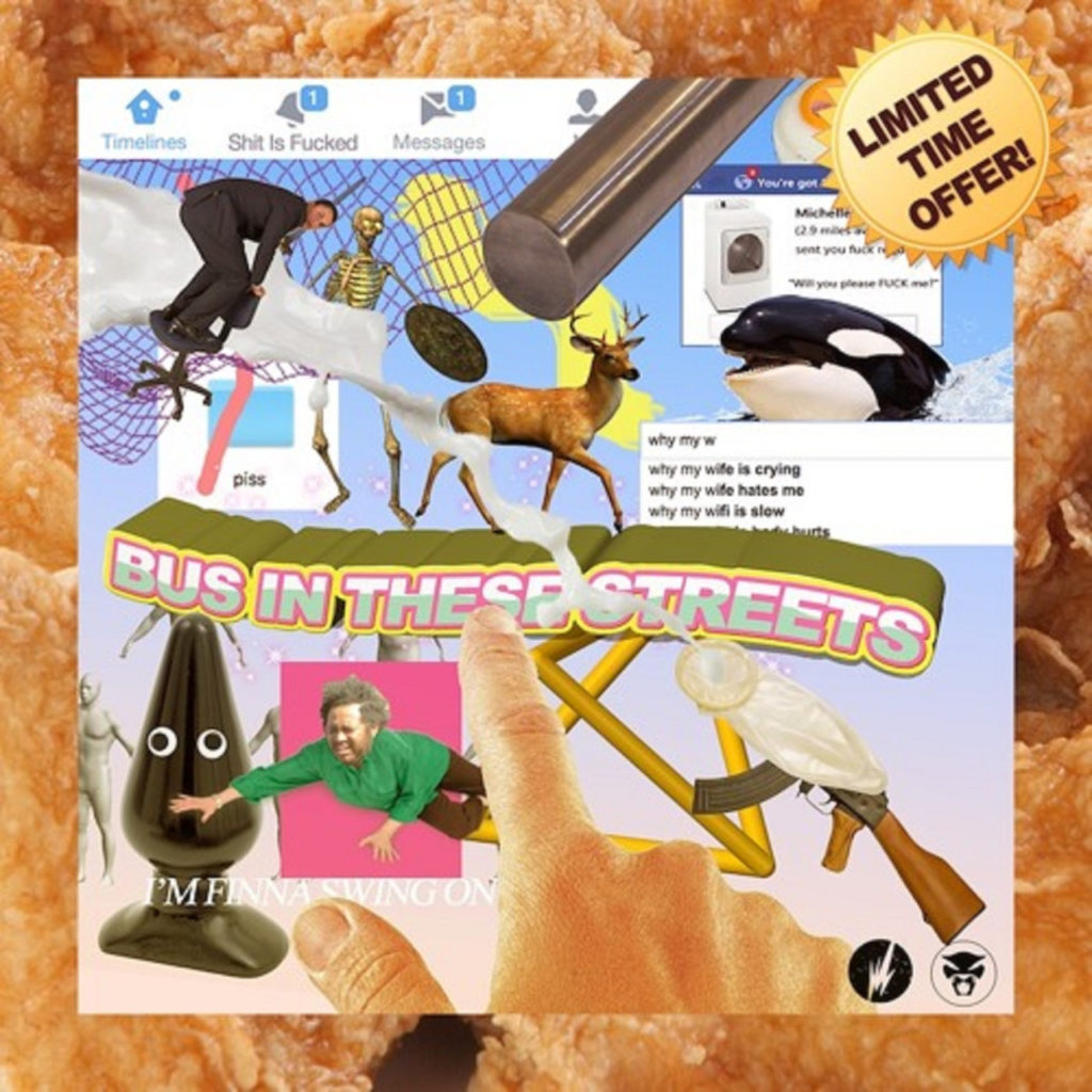 thundercat bus in these streets cover artwork